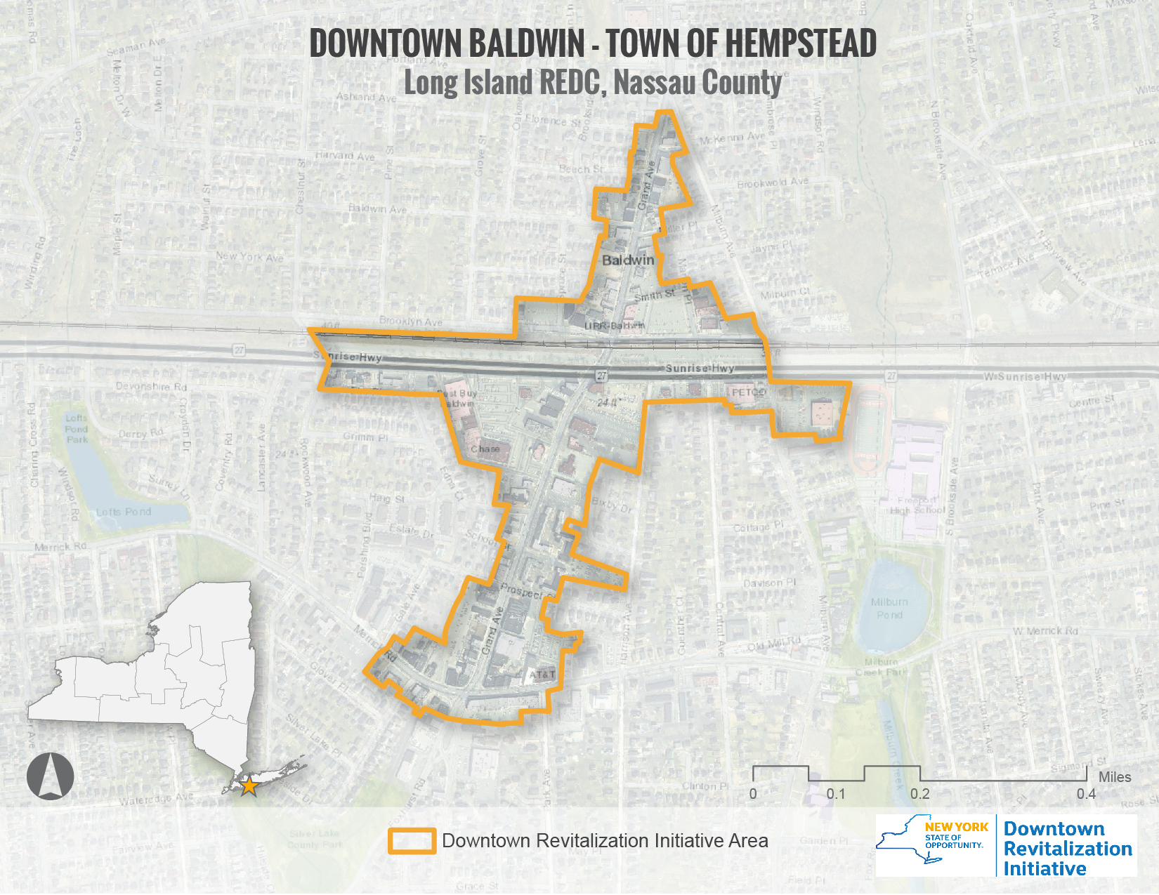 Baldwin DRI Area Map