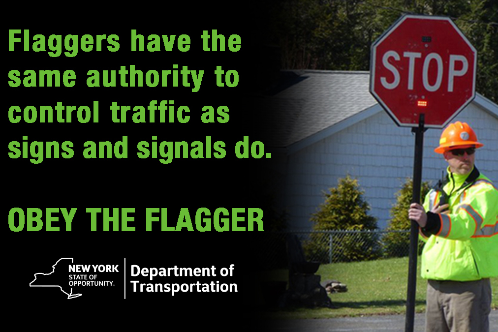 Obey the Flagger