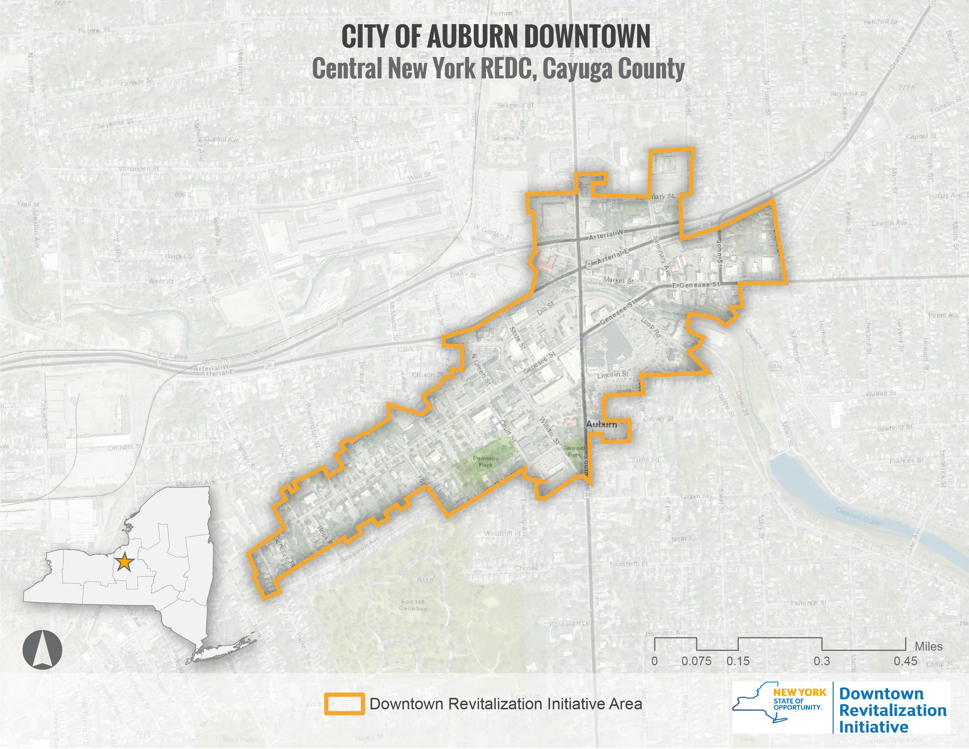 City of Auburn Map