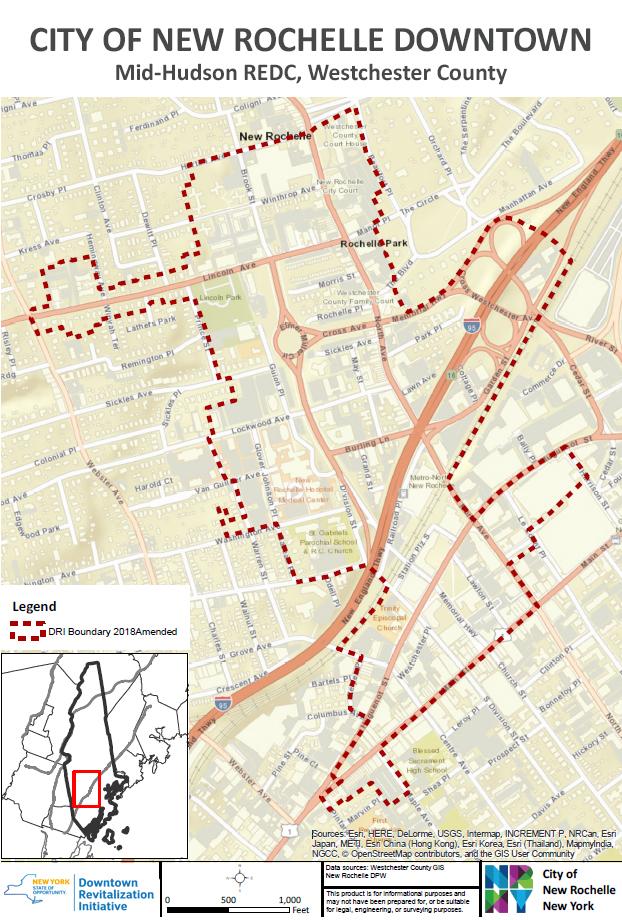 New Rochelle DRI Map