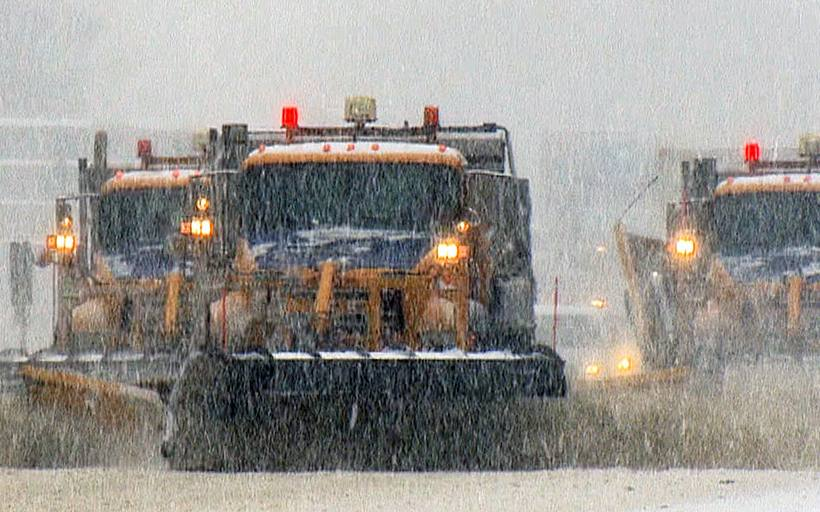 One hospitalized at Strong after head-on crash involving snow plow on Rt. 31