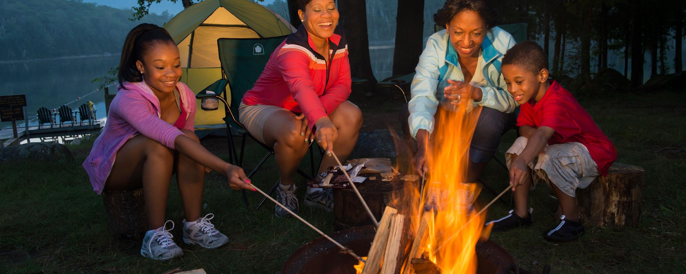 Electric Fire Pit >> Find a Campground | The State of New York